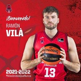 Ramón Vilà, nuevo jugador del Casademont Zaragoza