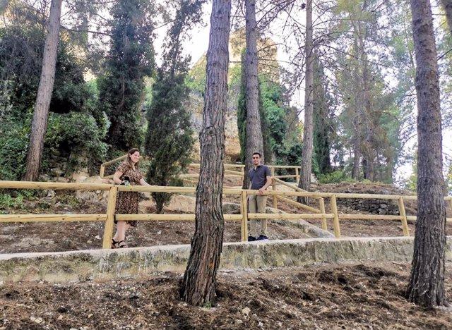 Visita a los jardines y al pinar de la Mota
