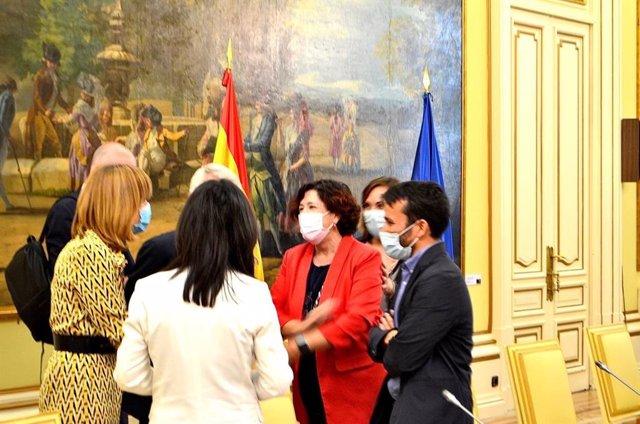 El conseller de Educación, Cultura y Deporte de la Generalitat Valenciana, Vicent Marzà,  asiste a la Conferencia Sectorual de Educación.