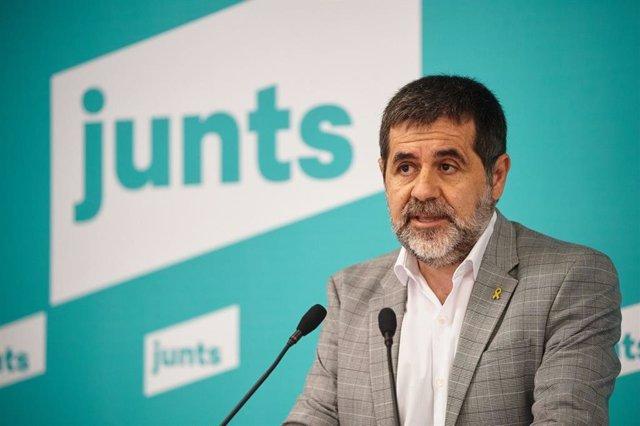 El secretario general de Junts, Jordi Sànchez