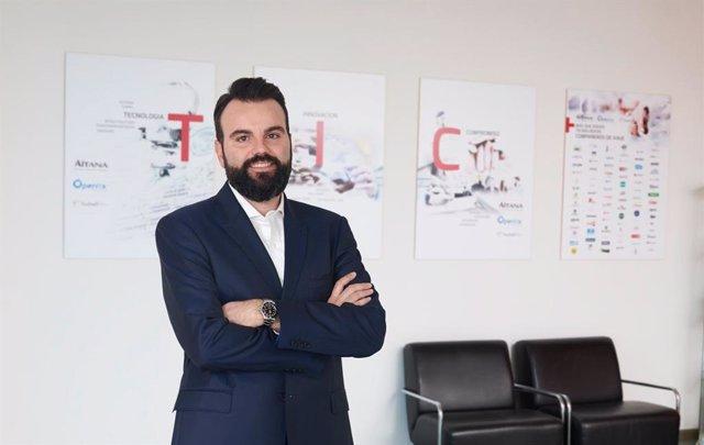 Daniel Segarra, director ejecutivo, en una de las sedes de Aitana,