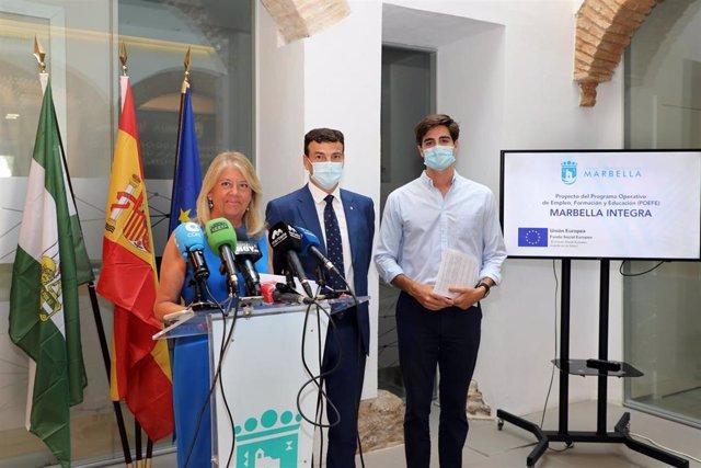 El Ayuntamiento de Marbella pone en marcha un programa de formación remunerado para 1.350 parados