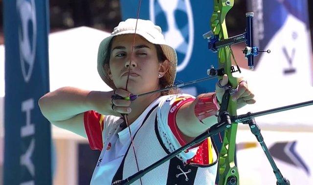 Archivo - Inés de Velasco logra el billete para España en los JJOO de Tokio en arco recurvo