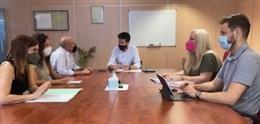 PSOE de Granada se reúne con representantes de Centros Comerciales Abiertos (CCA)