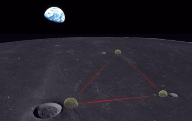 Diseño conceptual del Observatorio Lunar de Ondas Gravitacionales para Cosmología en la superficie de la luna.