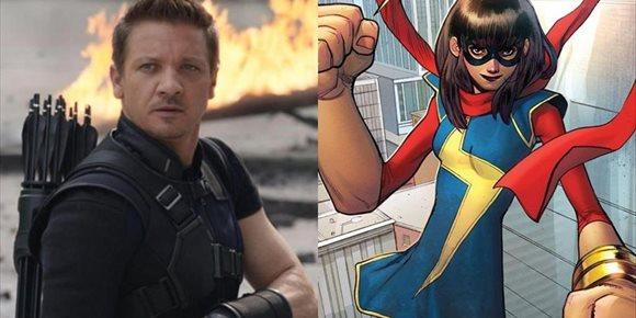 1. Marvel confirma cuando estrenará Hawkeye y Ms. Marvel en Disney+