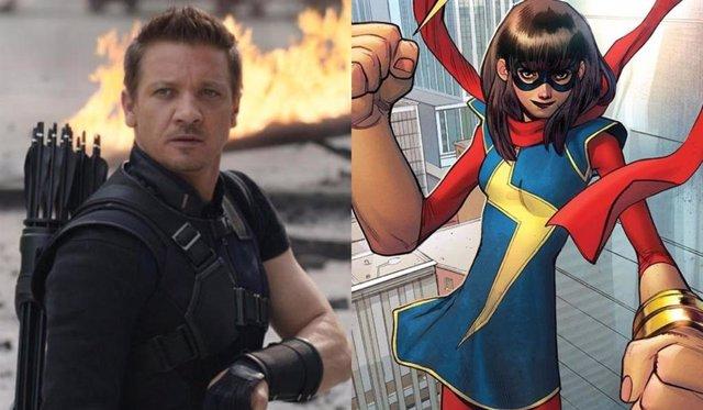 Marvel confirma cuando estrenará Hawkeye y Ms. Marvel en Disney+