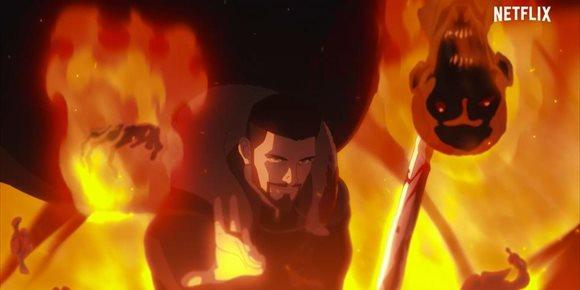 1. Violento tráiler de The Witcher: La pesadilla del lobo, el origen de Vesemir llega a Netflix