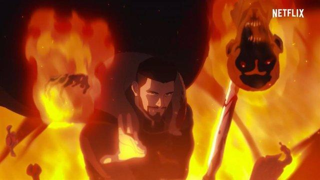 Violento tráiler de The Witcher: La pesadilla del lobo, el origen de Vesemir llega a Netflix