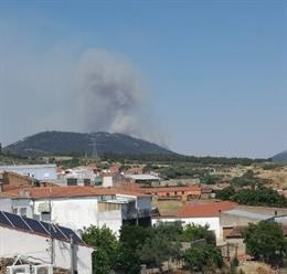 Incendio en Casas de Millán