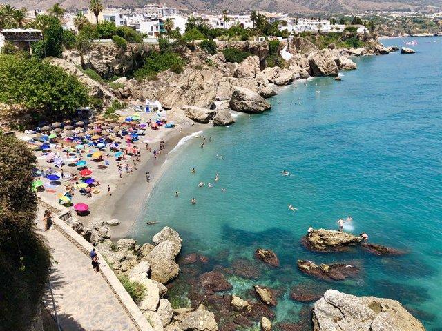Archivo - Playa Nerja