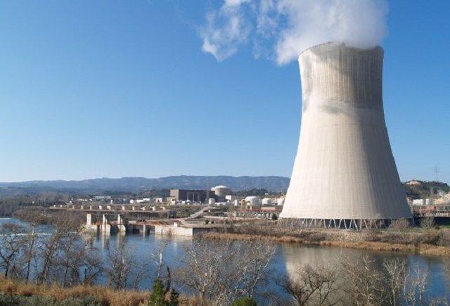 Archivo - Arxiu - Vista de la central nuclear d'Ascó