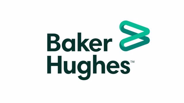 Archivo - Logotipo de Baker Hughes.