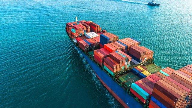 Archivo - Economía.-Las exportaciones crecen un 29,5% en mayo hasta 2.876 millones y sitúan Andalucía con un incremento del 13,2%
