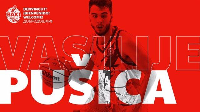 Vasilije Pusica, nuevo jugador del Baxi Manresa