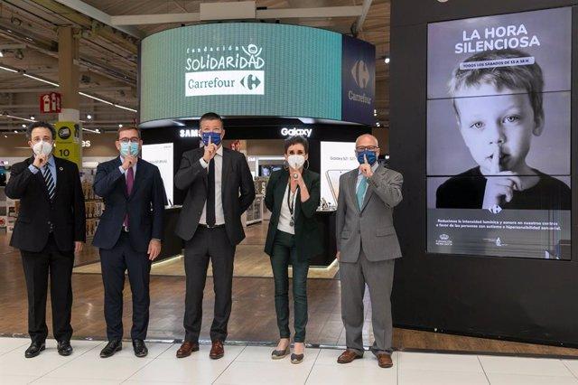 Carrefour España implantará 'La Hora Silenciosa' en todos sus hipermercados a partir de este sábado 24 de julio a favor de las personas con autismo e hipersensibilidad sensorial