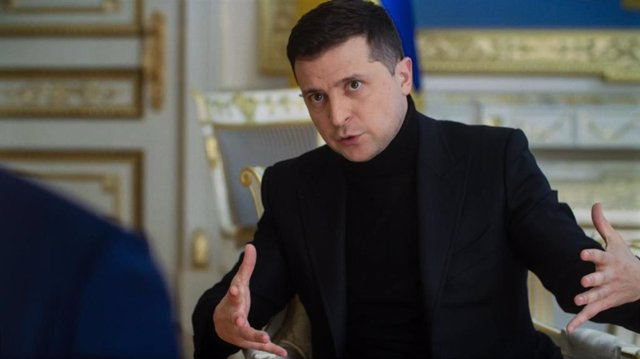 Archivo - El presidente de Ucrania, Volodmir Zelenski.