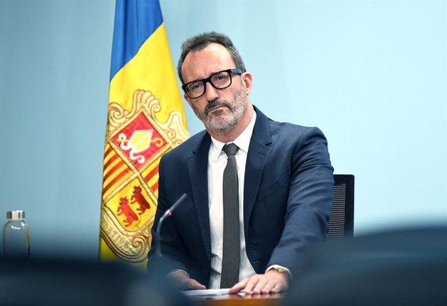 El ministre de Territori i Habitatge d'Andorra, Víctor Filloy.