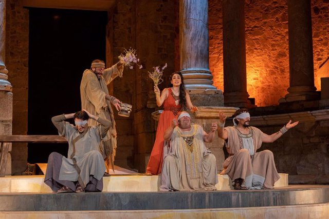 Estreno de 'Hipatia de Alejandría' en el Festival de Teatro de Mérida
