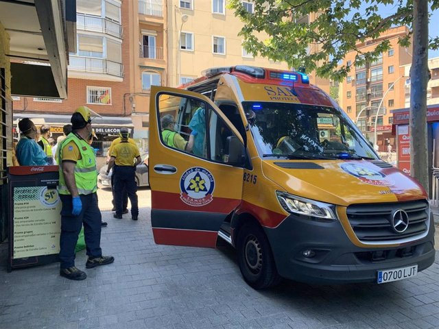 En estado grave un joven de 25 años tras ser atropellado en Ciudad Lineal (Madrid)