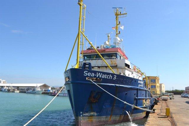 Archivo - Sea Watch 3