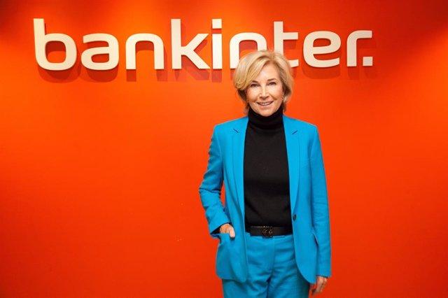 Archivo - La consejera delegada de Bankinter, María Dolores Dancausa, durante la presetación de resultados de 2020.