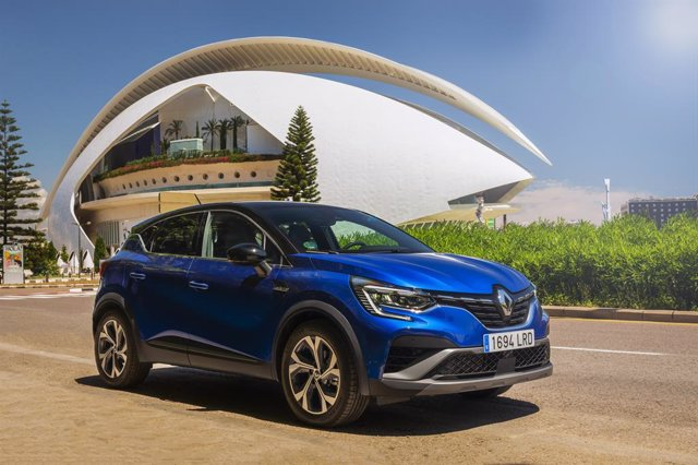 Renault Captur híbrido.