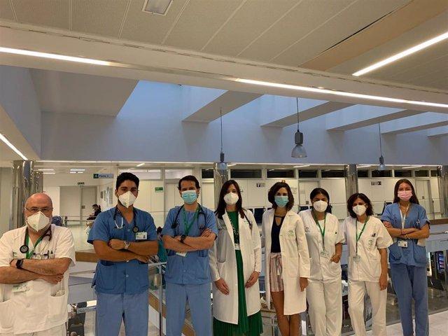 Equipo de la Unidad de Cardiopatías Familiares del Hospital Clínico Virgen de la Victoria de Málaga