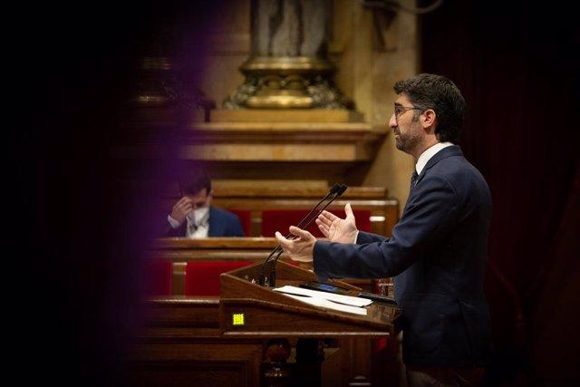 El vicepresidente del Govern y conseller de Políticas Digitales y Territorio, Jordi Puigneró
