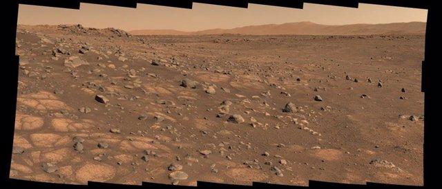 Ärea designada para recoger la primera muestgra de Marte que será traída a la Tierra en misiones futuras