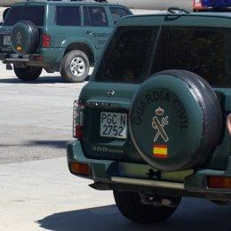 guardia civil vehiculos jeep