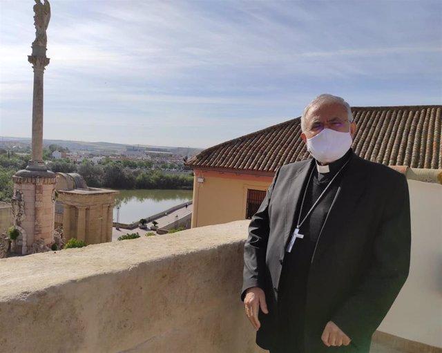 Archivo - El obispo de Córdoba, Demetrio Fernández.