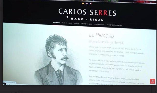 Un libro incluye un artículo de la UR sobre la saga de Carlos Serres