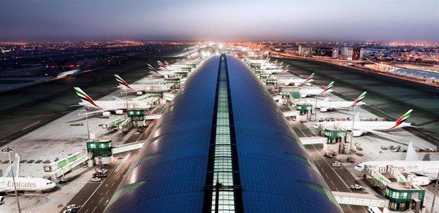Archivo - Aeropuerto de Dubai