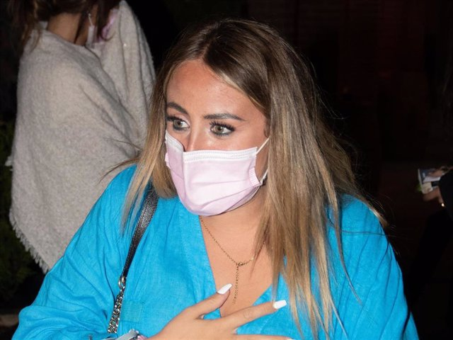 Archivo - Rocío Flores ha encontrado un refugio en Madrid.