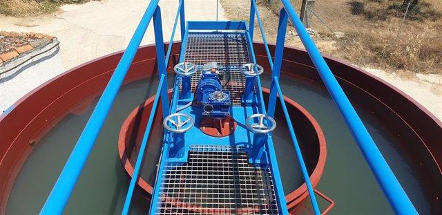 Estación de agua potable de Oliva de Plasencia