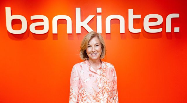 La consejera delegada de Bankinter, María Dolores Dancausa, durante la presentación de resultados del segundo trimestre de 2021.