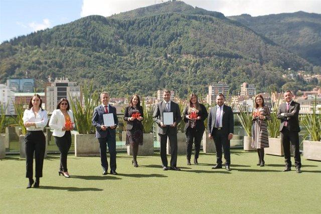 Sacyr obtiene en Colombia el certificado EFR