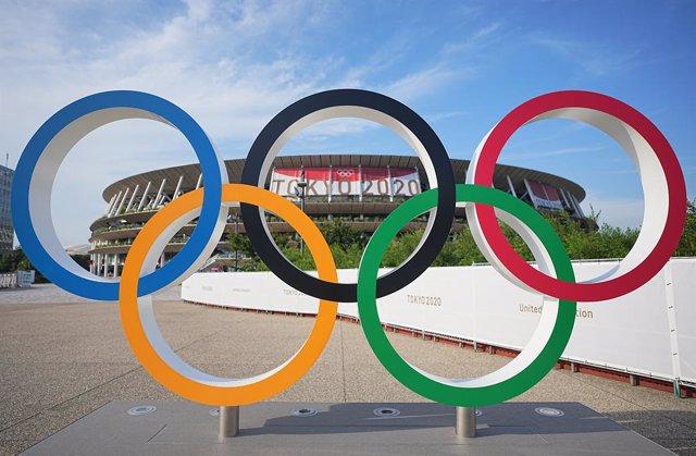 Arxiu - Un estadi abans dels Jocs Olímpics de Tòquio