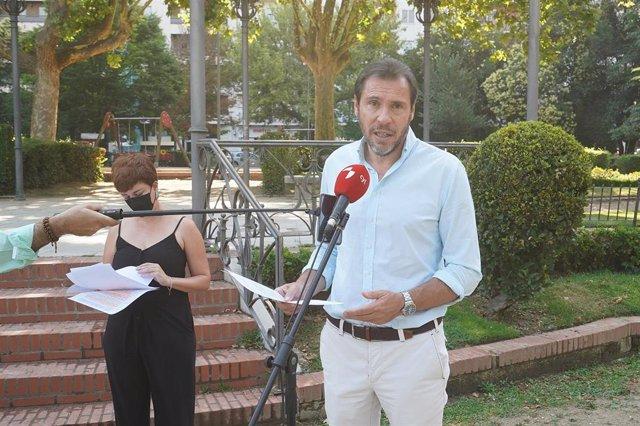 El alcalde de Valladolid y la concejal de Medio Ambiente, María Sánchez, presentan el Plan Director de Arbolado.