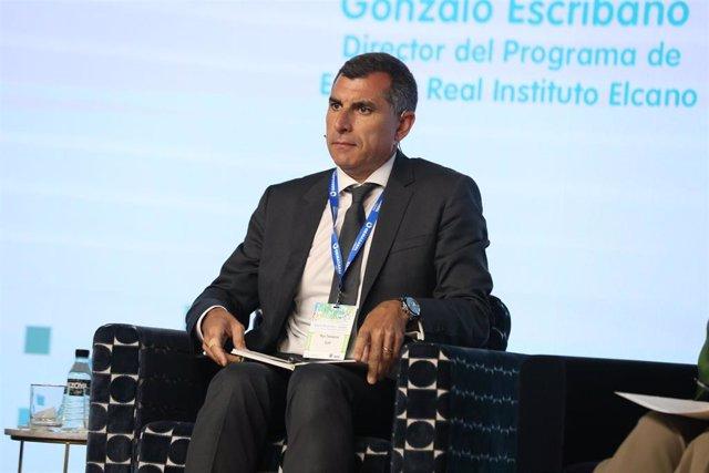 Archivo - El CEO de EDP España, Rui Teixeira, durante la inauguración del I Congreso Aelec 'Electrificación y redes: binomio para la transición energética'.