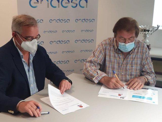 Firma del convenio FFIB-Endesa