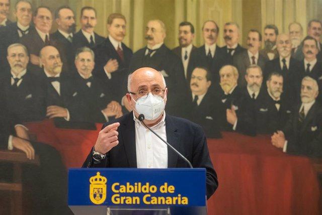 Archivo - El presidente del Cabildo de Gran Canaria, Antonio Morales
