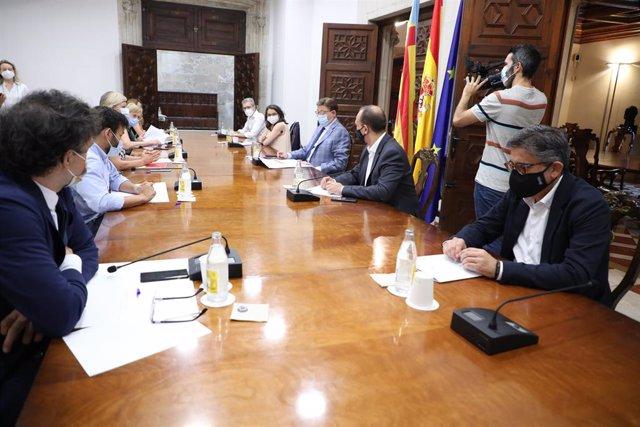 Reunió de la Comissió Interdepartamental contra la Covid