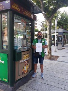 El Cupón Diario de la ONCE reparte 35.000 euros en Calahorra