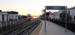 Estación de tren de Pedrera (Sevilla)
