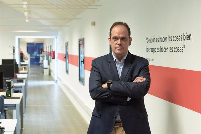 Fundador y presidente de Izertis, Pablo Martín.
