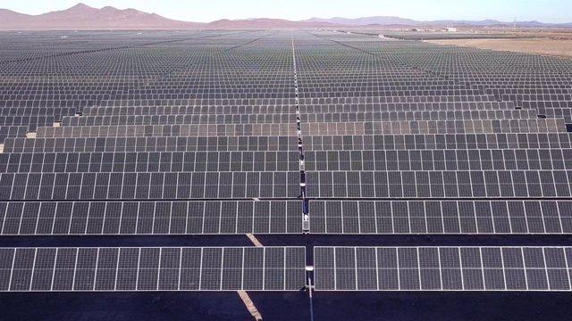 Parque fotovoltaico de Acciona Energía en Chile