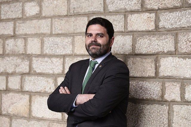 El portavoz de Cs en Barcelona, Paco Sierra, y nuevo consejero del AMB en sustitución de Marilén Barceló.