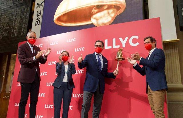 LLYC debuta en BME Growth.